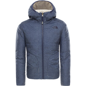 The North Face Reversible Perrito Veste Fille, montague blue denim print